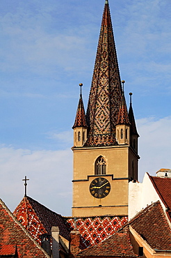 Romania, Sibiu, Evangelical Church,
