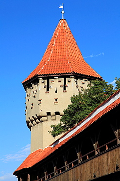 Romania, Sibiu, Carpenters Tower,