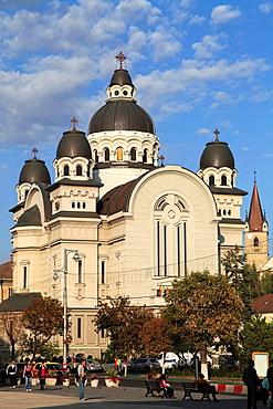 Romania, Targu Mures, Orthodox Cathedral,