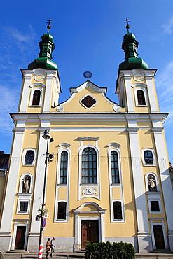 Romania, Targu Mures, Roman Catholic church,