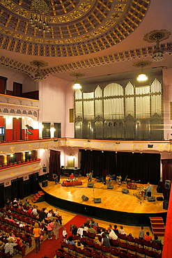 Romania, Targu Mures, Culture Palace, concert hall,