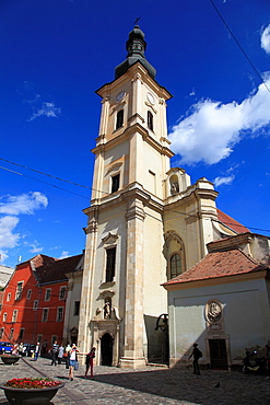 Romania, Cluj-Napoca, Franciscan Church,