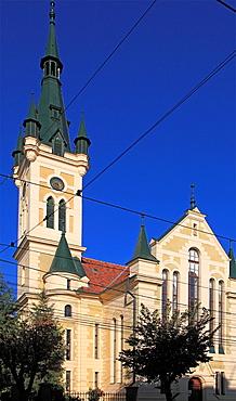 Romania, Cluj-Napoca, Hidelve Hungarian Reformed Church,
