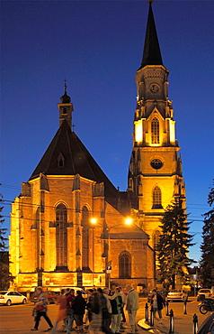 Romania, Cluj-Napoca, St Michaels Church,