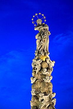 Slovakia, Kosice, Plague Column,