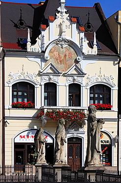 Slovakia, Kosice, Main Square, historic architecture,