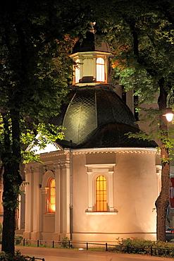 Serbia, Vojvodina, Subotica, chapel,