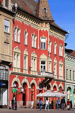 Serbia, Vojvodina, Subotica, Korzo, art nouveau, architecture,