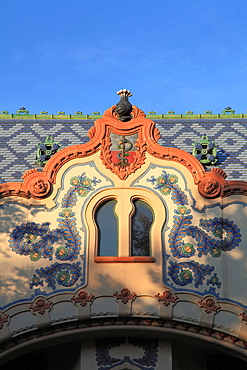 Serbia, Vojvodina, Subotica, Raichle Palace,