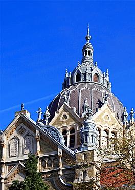 Hungary, Szeged, New Synagogue,