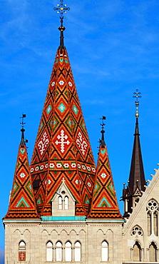 Hungary, Budapest, Matthias Church,