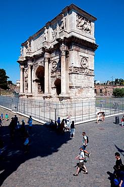Italy, Lazio, Rome, Arco Di Constantino, Arch of Constantine