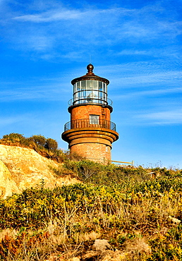 Gay Head Lighthouse, Aquinnah, Martha¥s Vineyard, Massachusetts, USA