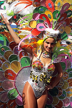 Carnival of Santa Cruz, Tenerife, Canary Islands, Atlantic Ocean