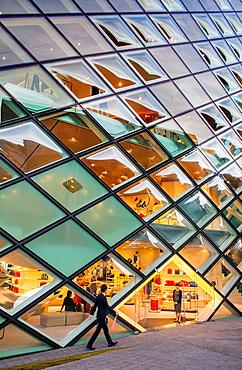 Prada Store, Architect Herzog & De Meuron Aoyama Tokyo Japan