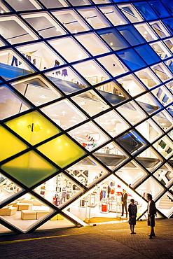 Prada Store, Architect Herzog & De Meuron Aoyama, Tokyo, Japan