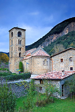 Romanesque church of Sant Cristofol s  XII, Beget  Garrotxa, Girona, Catalonia, Spain
