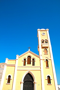 Church in Hermigua municipality La Gomera island