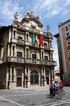 Town Hall, Pamplona, Navarra Navarre, Spain