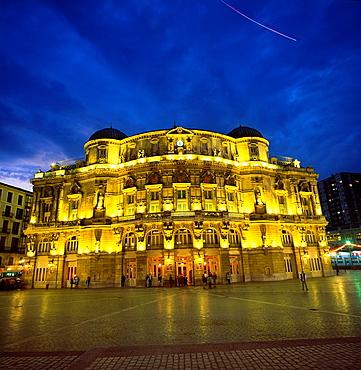 Arriaga Theater. Arenal Square. Bilbao. Bilbo. Bizkaia. Vizcaya. Pais Vasco. Euskadi. Basque Country, Spain