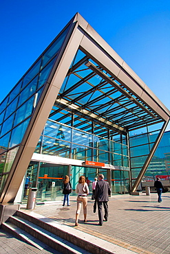 Underground Bilbao. Sarriko Station. Norman Foster Architect. Bilbao. Bizkaia. Vizcaya. Pais Vasco. Euskadi. Basque Country, Spain