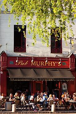 France, Normandy Region, Seine-Maritime Department, Rouen, Place du Vieux Marche, cafes, NR