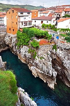 Punta de la Atalaya in Castro-Urdiales Santander Cantabria Spain