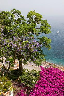 Positano, Amalfi Coast, province of Salerno, Campania region, southern Italyy, Europe