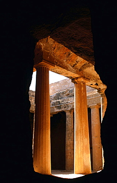 Tombs of the Kings, Hellenistic necropolis (4th century BC), Paphos, Cyprus