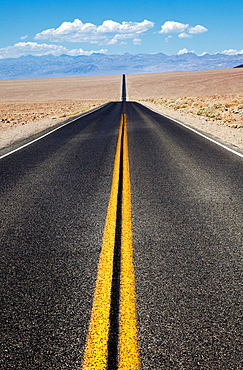 Endless Road in Death Valley, USA