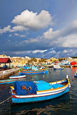Marsaxlokk Fishing Village, Malta Island, Malta, Europe.
