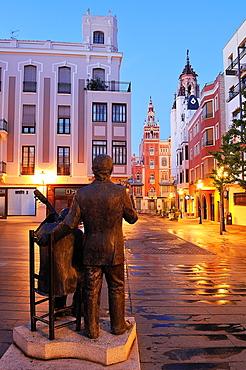 La Soledad square Badajoz Extremadura Spain
