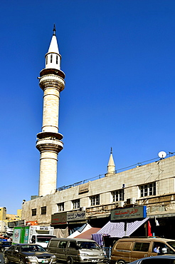 Amman, Jordan The Grand Husseini Mosque downtown.