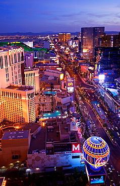 Las Vegas Boulevard at Night, Las Vegas