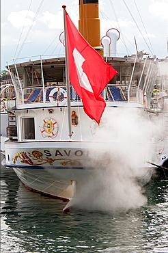 Geneva Lake, Lac Leman, Steamboat Cruise, Geneva, Switzerland