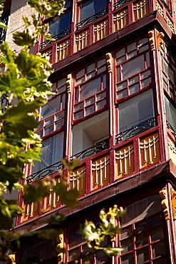 Architecture in Logrono, La Rioja, Spain