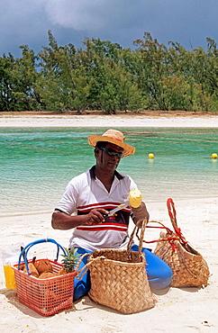 Mauritian, Ile aux Cerfs, East coast, Mauritius