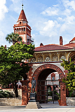 Flagler College in St Augustine, Florida The building was originally the Ponce de Leon Hotel