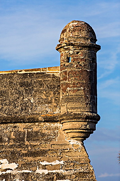 A garrita at Castillo de San Marcos in St Augustine, Florida St Augustine is the oldest city in America