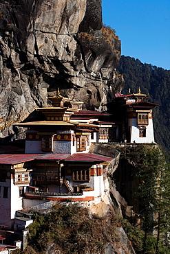 Taktsang Monastery Tiger's Nest, Paro Valley, Bhutan, Asia.