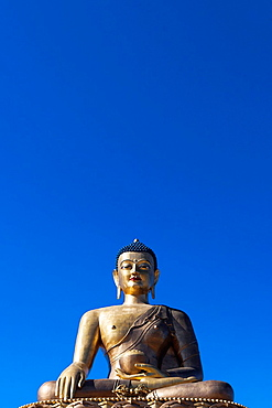 Giant Buddha Dordenma Statue in Kuensel Phodrang, Thimphu, Bhutan, Asia.