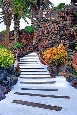 Spain, Canary Islands, Lanzarote Island, Jameos del Agua, detail