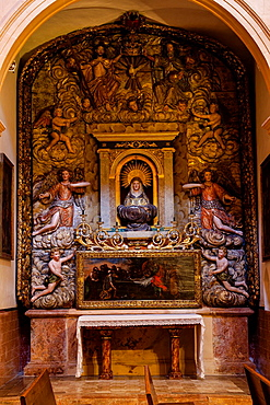 Immaculate Conception, Convent of Santa Clara de Palma, XIII Century, Mallorca, Balearic Islands, Spain