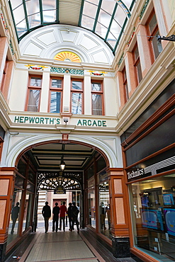 Hepworth's Arcade, Kingston upon Hull, East Riding of Yorkshire, England, UK.