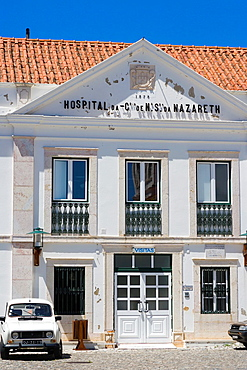 Hospital da Confraria de Nossa Senhora da Nazare, Sitio, old vilage, Nazare, Oeste, Leiria District, Portugal.