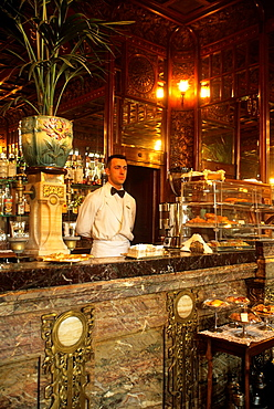historic Cafe Mulassano, Turin, Piedmont region, Italy, Europe