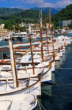 Port de Soller. Majorca island. Spain