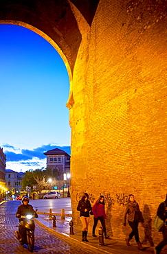 Puerta Elvira Elvira Gate Albaicin quarter Granada, Andalucia, Spain