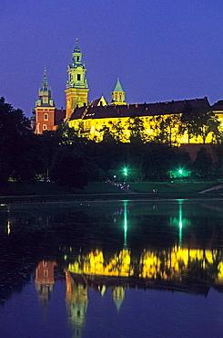 Zamek wawelski (Wawel Castle), Krakow, Poland