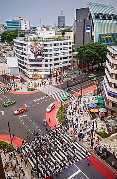 Omotesando street Tokyo Japan